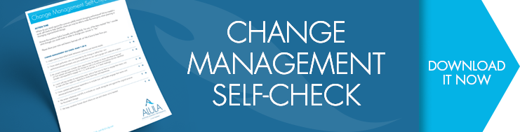 ChangeManagement Self Check CTA