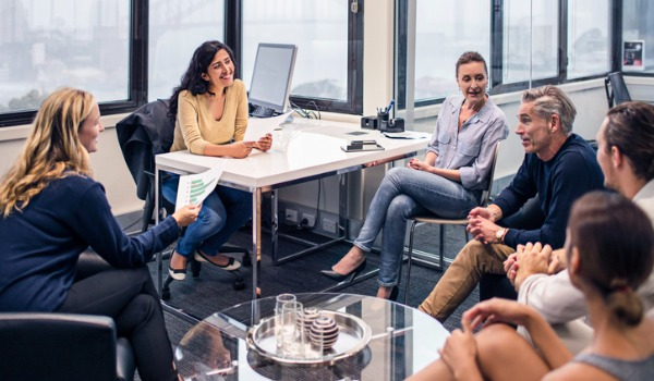 business-people-on-a-meeting-in-the-office-picture-id500667366
